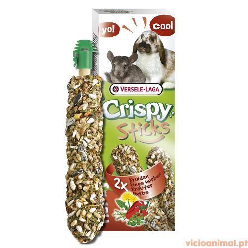 CRISPY STICKS RABBIT CHINCHILLA Herbs 110g stick 1