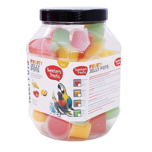 Fruity Jelly Pots